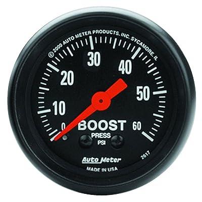 AUTO METER 2617 Z-Series Mechanical Boost Gauge: Automotive