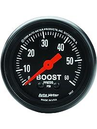 "Auto Meter 2617 Z-Series 2"" 0-60 PSI Mechanical Boost Gauge"