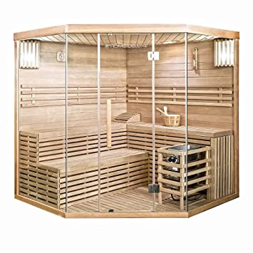 Home Deluxe Traditionelle Sauna Skyline Xl Big Holz