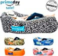 Chillbo Baggins 2.0 Inflatable Lounge Bag Hammock Air Sofa and Pool Float Ships Fast! Ideal for Indoor or Outdoor Hangout or Inflatable Lounger for Camping Picnics & Music Festivals
