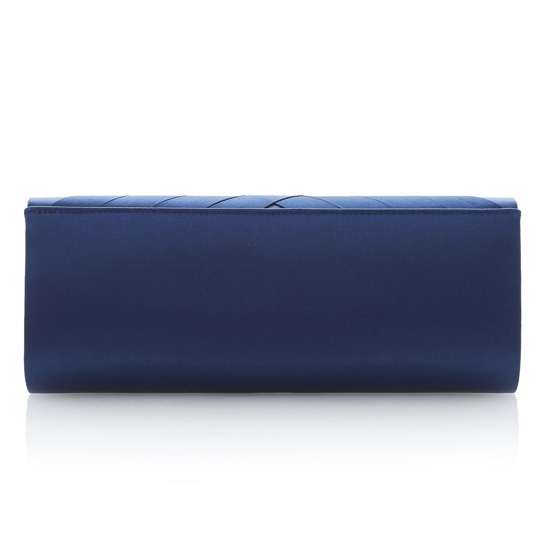 Roland Cartier - Cartera de mano mujer, color Azul, talla: Amazon.es: Zapatos y complementos