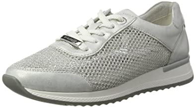 Remonte R7006, Sneakers Basses Femme, Blanc (Ice/Weiss-Silber/90), 38 EU
