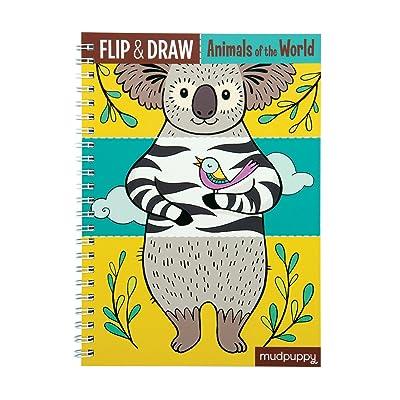 Mudpuppy Animals of The World Flip & Draw: Mudpuppy, Betts, Anni: Toys & Games