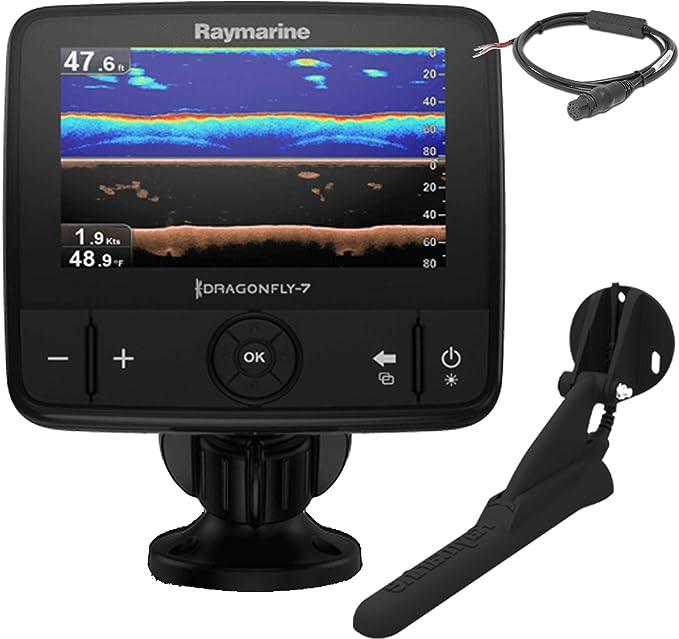 Raymarine Dragonfly 7PRO Sonda Plotter sin Cartografia Resistencia al Agua IPX6 y IPX7 E70320, Náutica, Negro: Amazon.es: Deportes y aire libre
