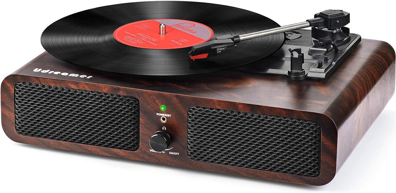 FM Radio USB Vinyl Music Recording LP Phonograph Record Player ...