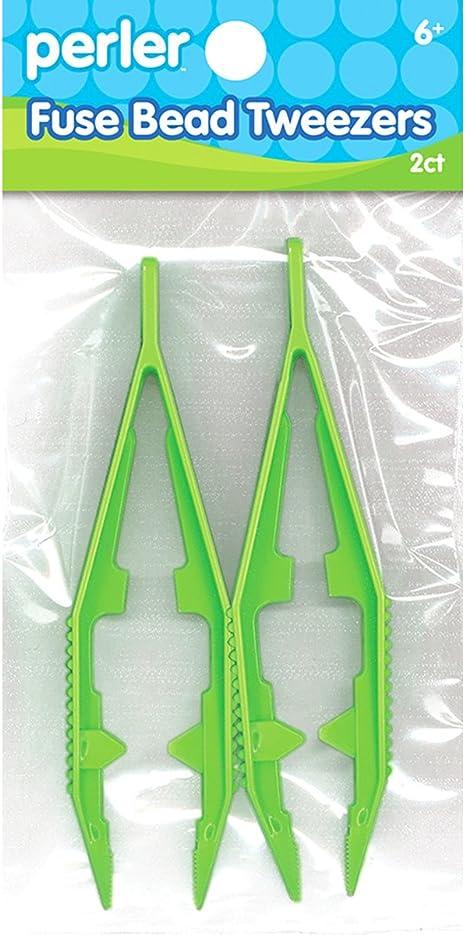 4 Pcs Plastic Fuse Beads Tweezers Handmake Beads Crafts Manual DIY Creative Craft Game Tool for Kids Convenient Tools