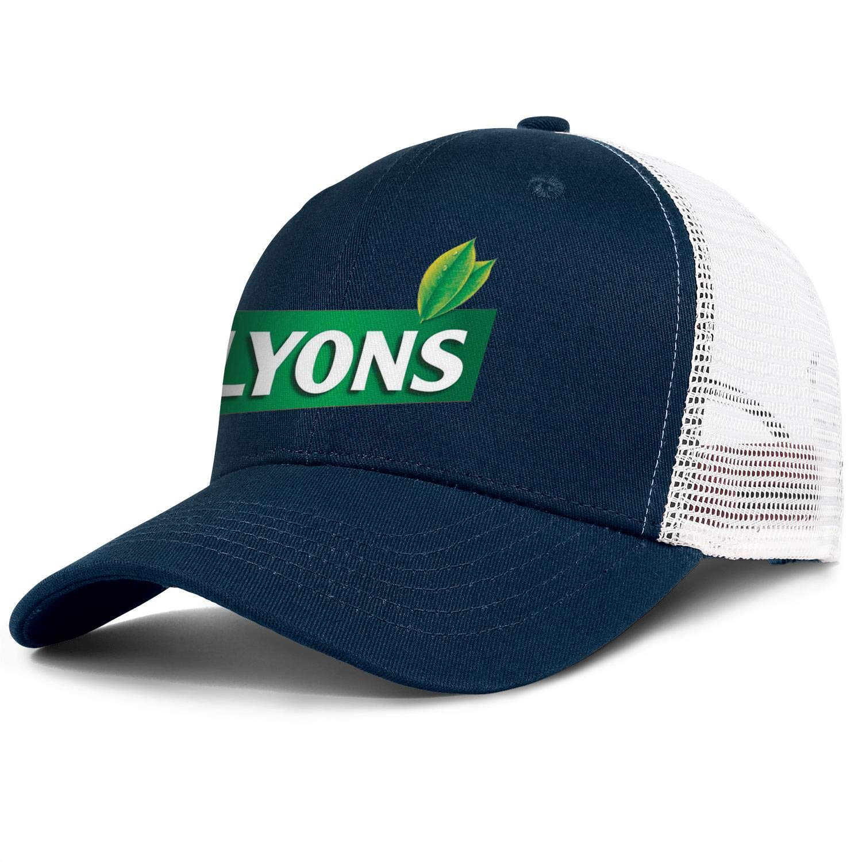 Wudo Unisex Lyons Hat Pretty Trucker Hat Baseball Cap Adjustable Cowboy Hat