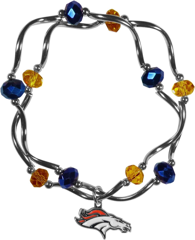 Siskiyou NCAA Womens Crystal Bead Bracelet