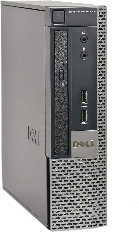 Dell Optiplex 9010 SFF Desktop PC - Intel Core i5-3470 3.2GHz 16GB RAM 240GB SSD DVD Windows 10 Pro, WIFI (Renewed)