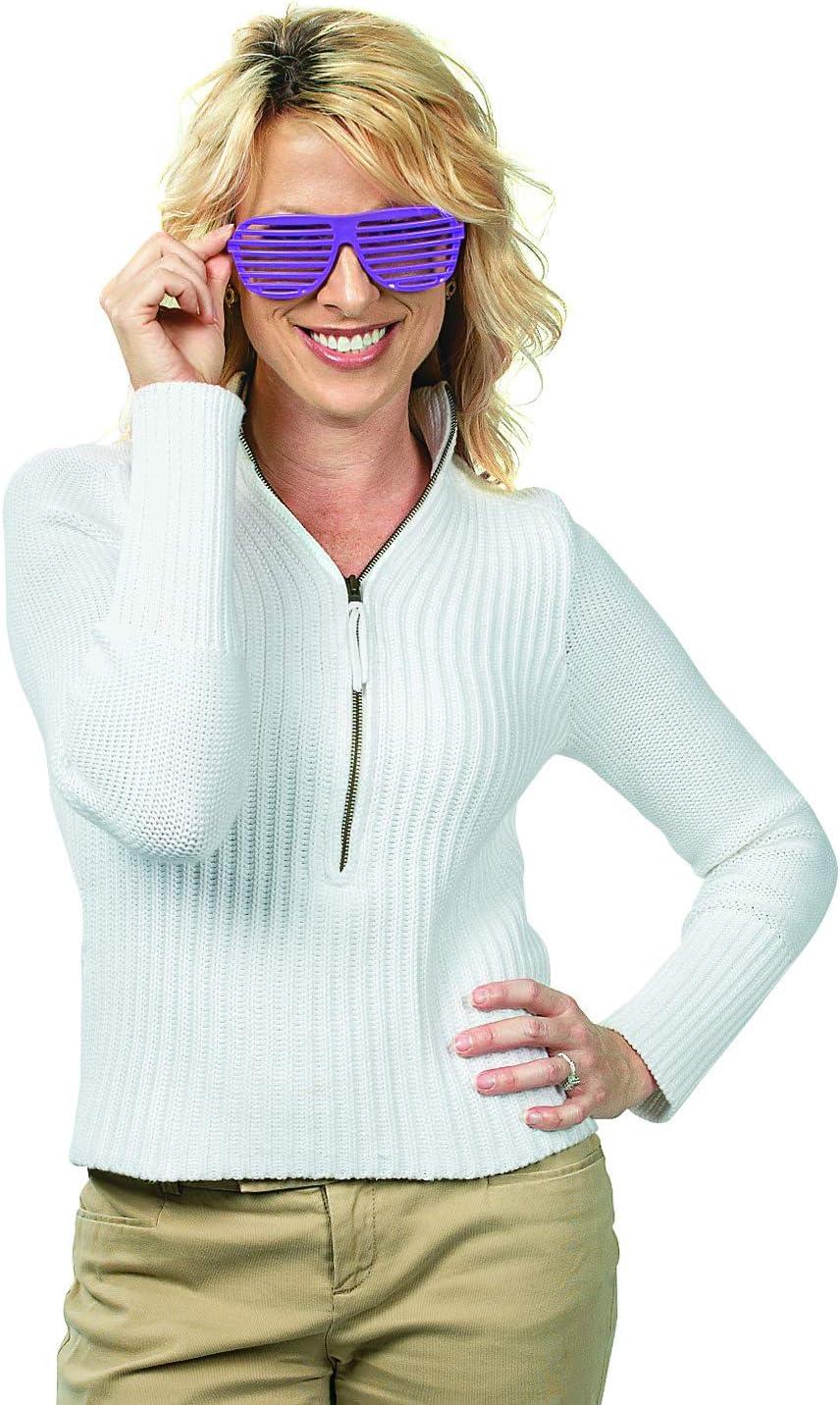 12-Pair Oriental Trading Shutter Shading Glasses