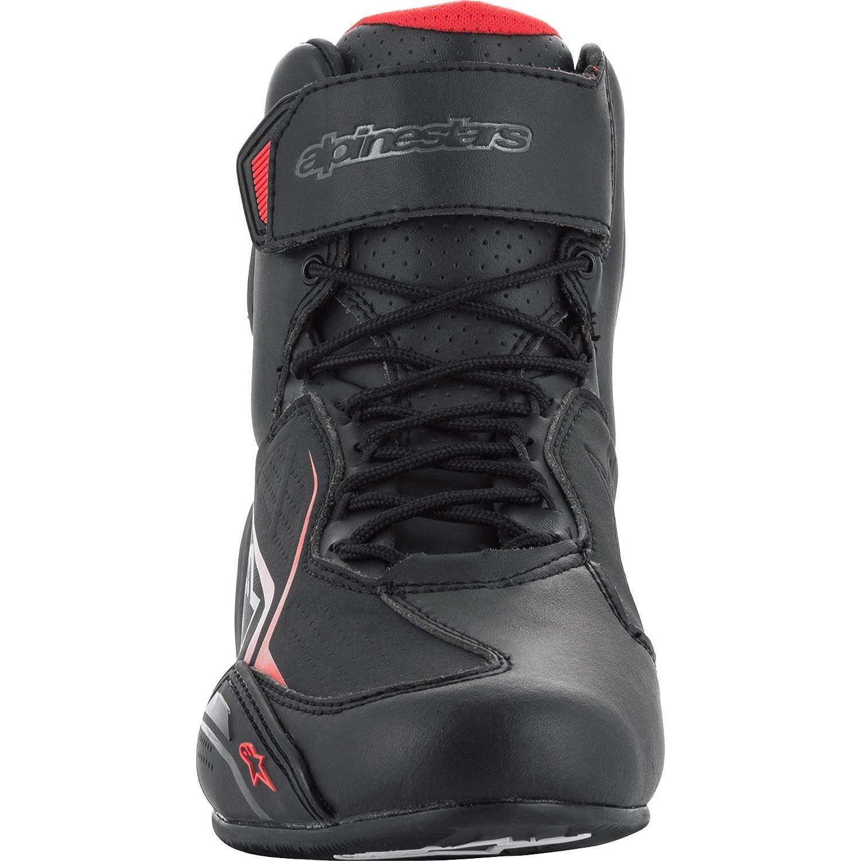 45 Alpinestars Stivali Moto Faster-3 Shoes Black Nero