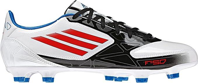 adidas F10 TRX FG White v24793, Blanco, Negro y Rojo ...