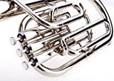 Fever Deluxe Alto Horn Silver Plated, 2411-1-N