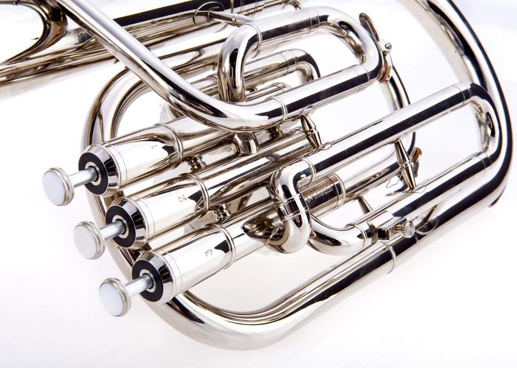 Fever Deluxe Alto Horn Silver Plated, 2411-1-N by Fever (Image #3)
