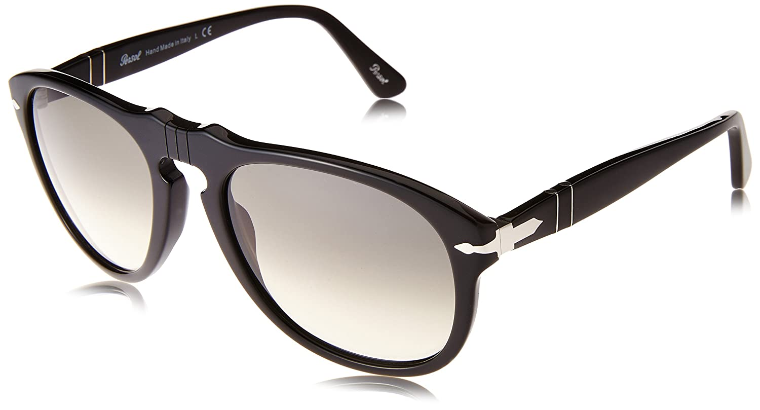 f89c8c9d380 Amazon.com  Persol Men s 0PO0649 Round Sunglasses  Clothing