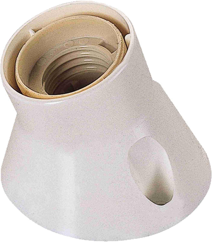 Tayg 71137 Electraline 71137-Portal/ámparas de pared color blanco inclinado, casquillo E27