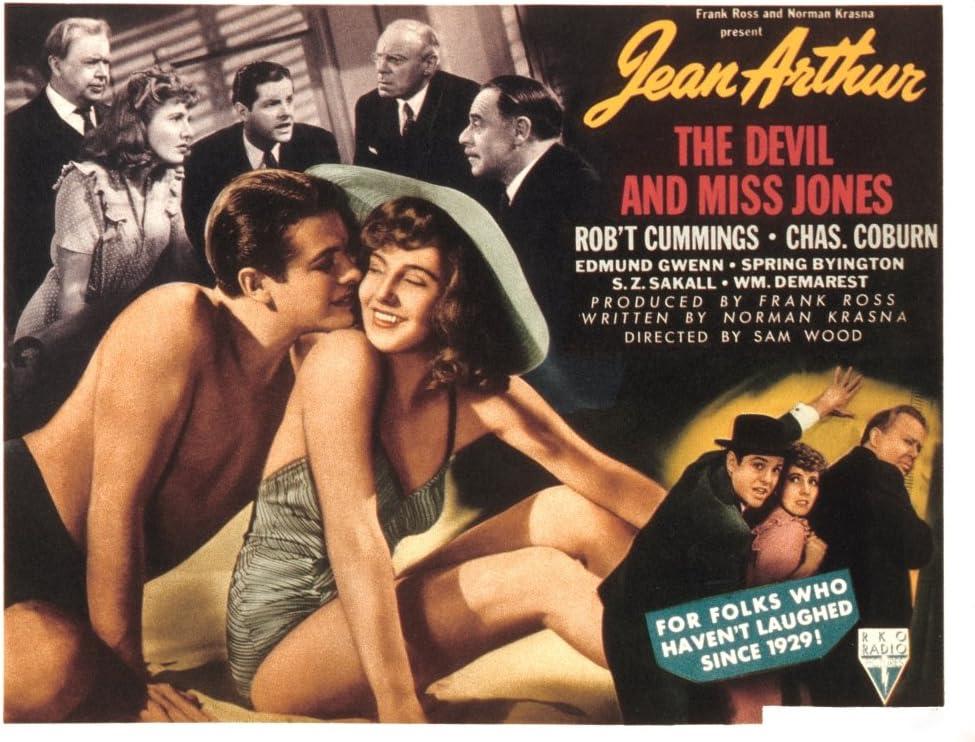 Amazon.com: Posterazzi The Devil And Miss Jones Robert Cummings ...