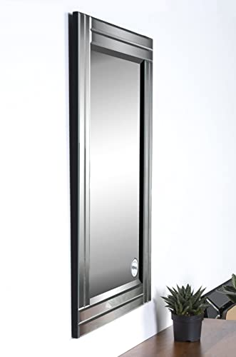 Ren-Wil MT1284 Baton Rouge Wall Mount Mirror by Kelly Stevenson and Jonathan Wilner, 35 by 24-Inch