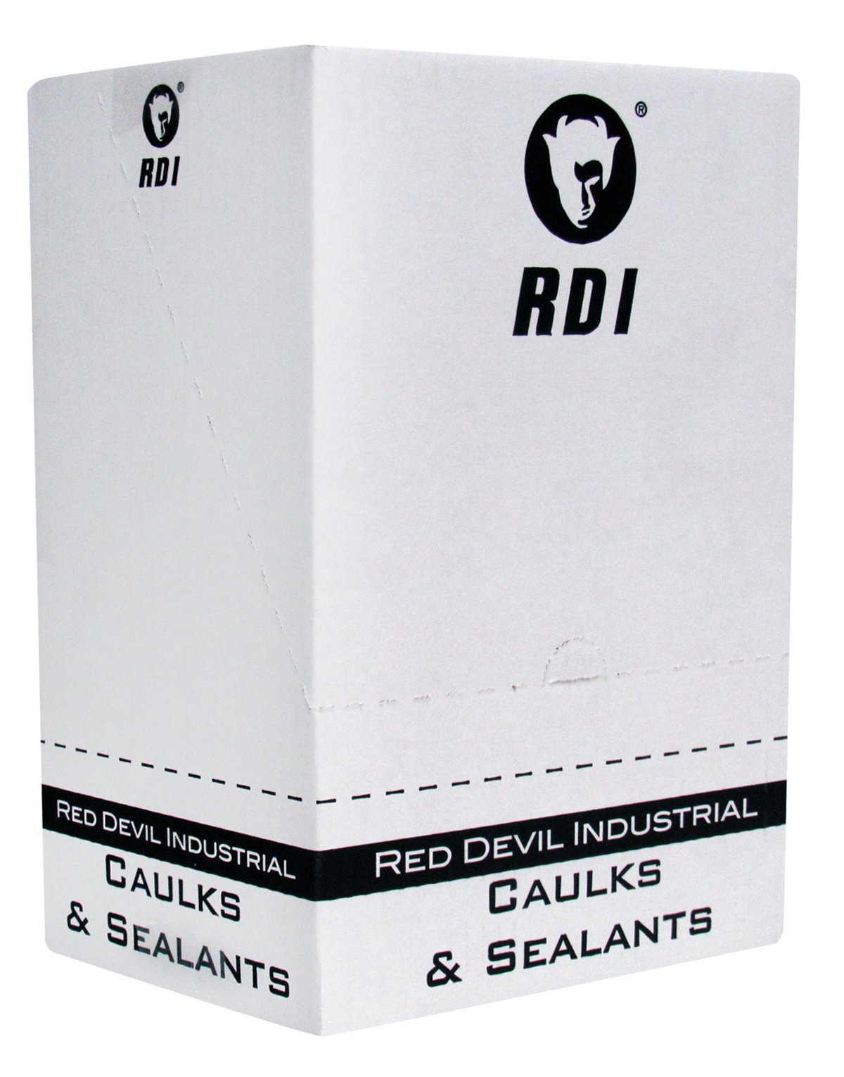 Red Devil 08160I12 08160I RD Pro Industrial Grade Rtv 100% Silicone Sealant Case of 12, White by Red Devil (Image #3)