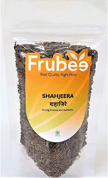 Frubee Shah Jeera, Authentic & Original, Premium Afghan ShahJeera (Caraway  Seeds, Black Cumin)-200 Grams