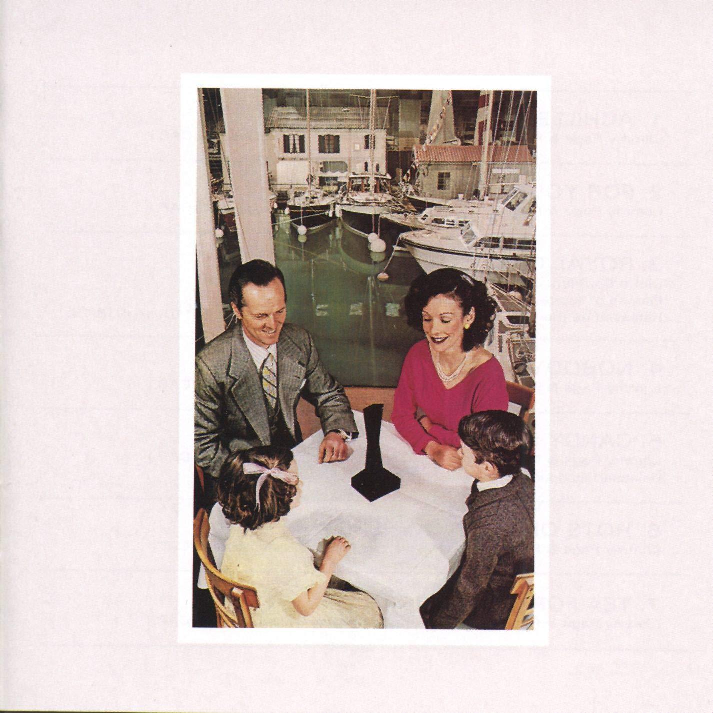 Led Zeppelin Presence Cover