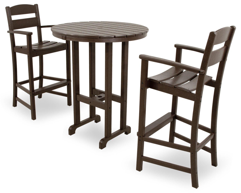 Amazon.com : Ivy Terrace IVS111 1 MA Classics 3 Piece Bar Set, Mahogany :  Patio Rocking Chairs : Garden U0026 Outdoor