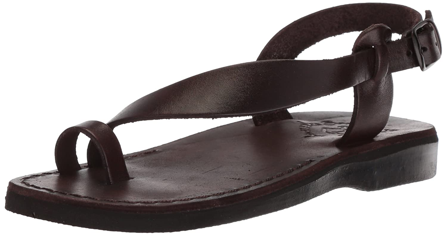 Jerusalem Sandals Women's Mia Sandal B075KVHJ52 37 Medium EU (6-6.5 US)|Brown