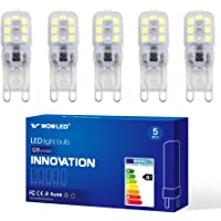 WOW 5x 10x G9 Non-Dimmable, Transparent