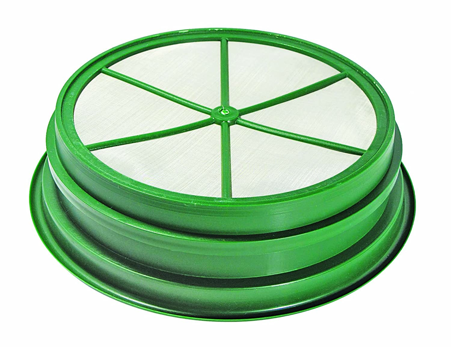 """SE 9-Piece Set of Patented Stackable 13-1//4/"""" Sifting Pans GP2-9 SET"""