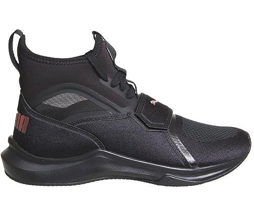 Phenom WNS Black  Amazon.in  Shoes   Handbags 3b2244aba