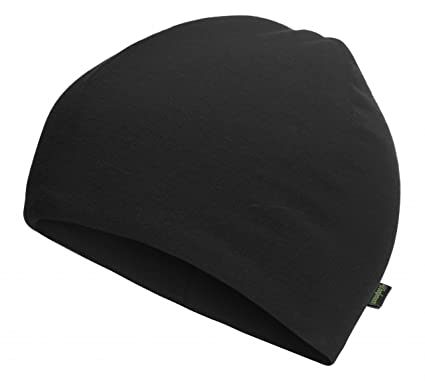 cdb2fc7d Amazon.com: Woolpower Beanie LITE Black One Size: Sports & Outdoors