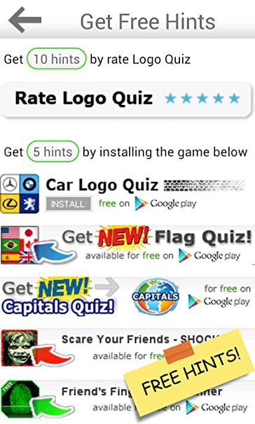 Amazoncom Ultimate Logo Quiz Appstore For Android