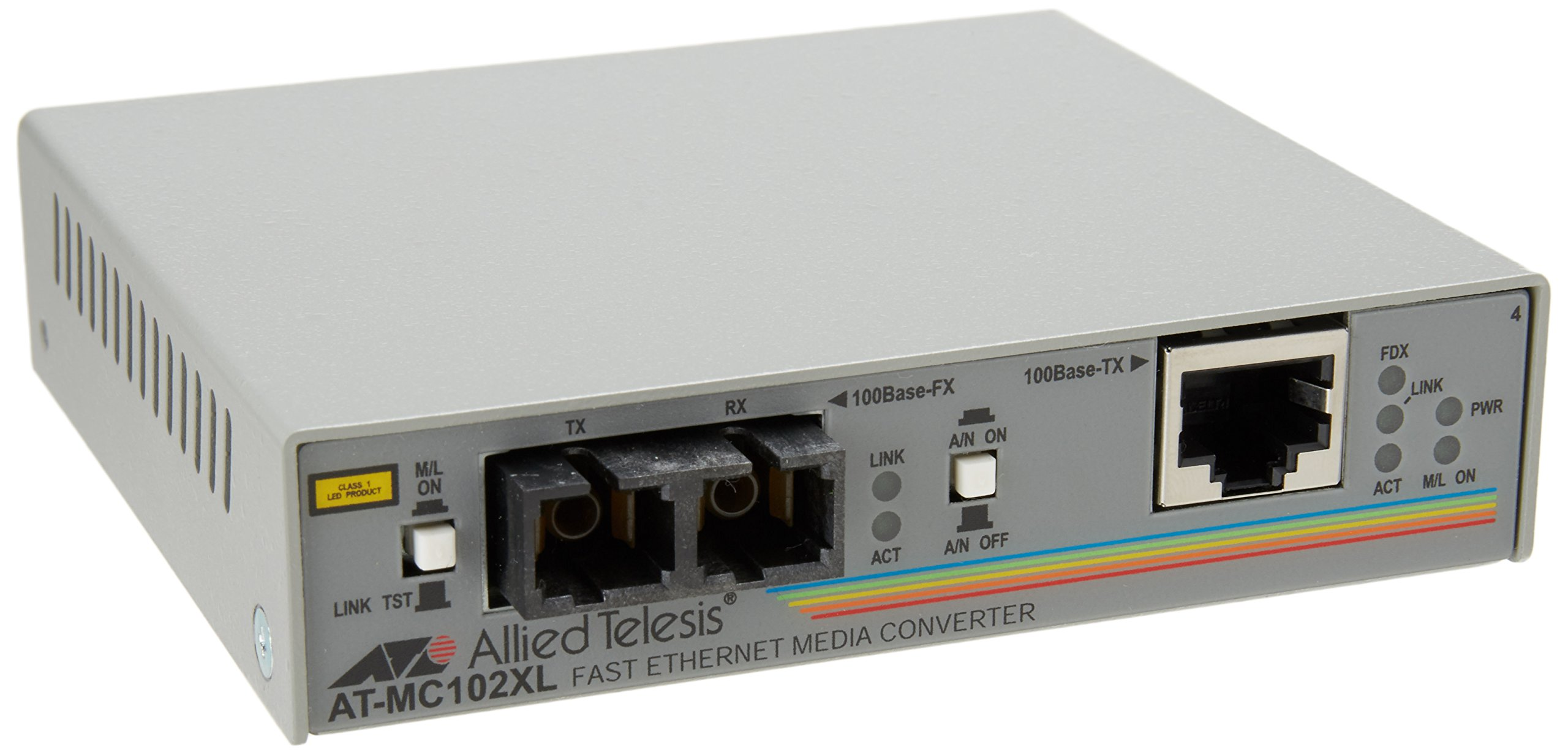 Allied Telesyn AT-MC102XL-90 100BTX To 100BFX Sc Media Converter by Allied Telesis