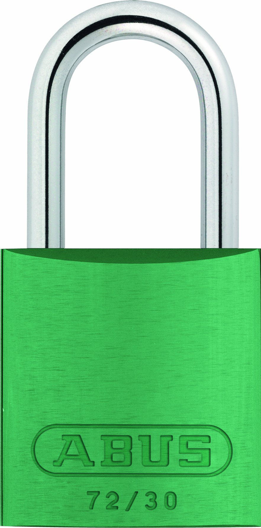 ABUS 72/30 KD Safety Lockout Aluminum Keyed Different Padlock, Green