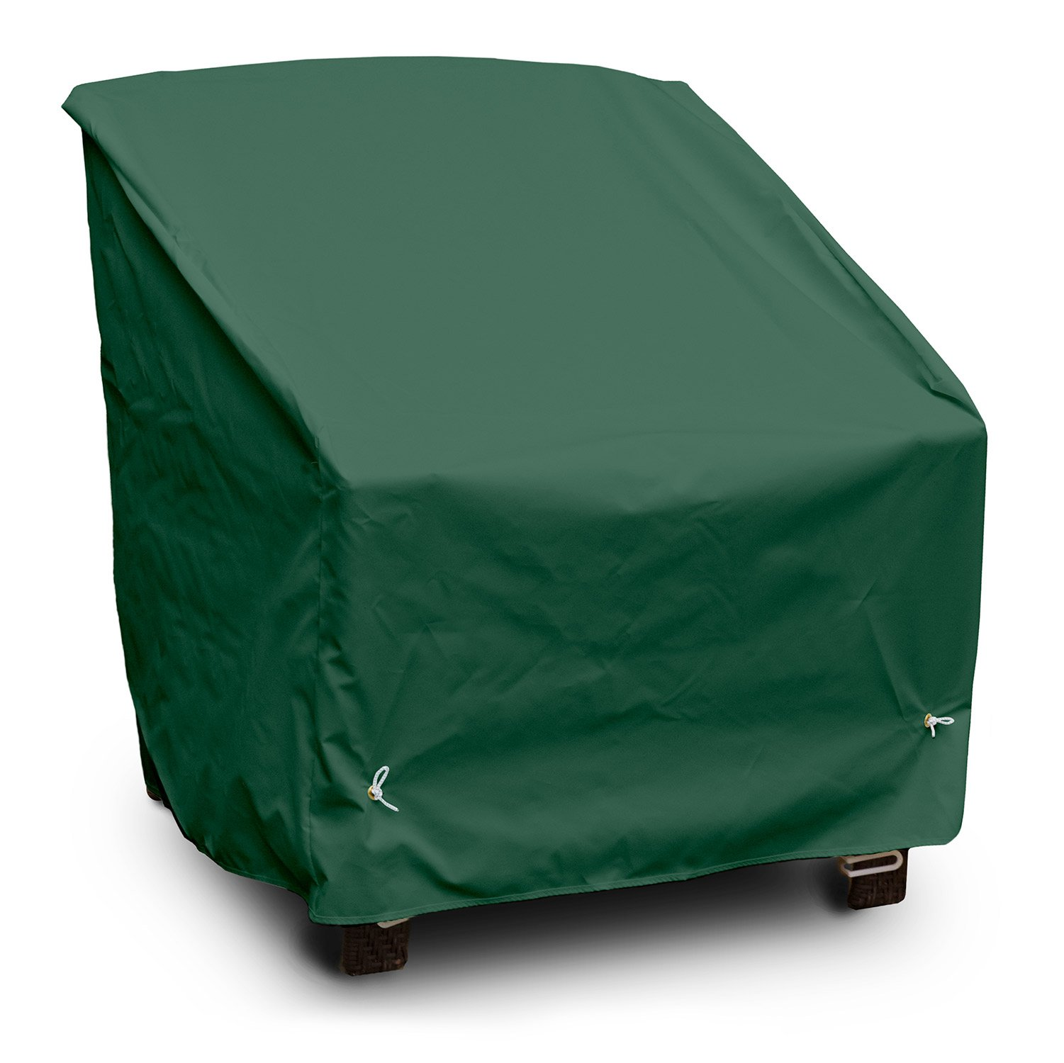 KoverRoos Weathermax 66150 Deep Seating Chair Cover, 34-Inch Width by 35-Inch Diameter by 32-Inch Height, Forest Green