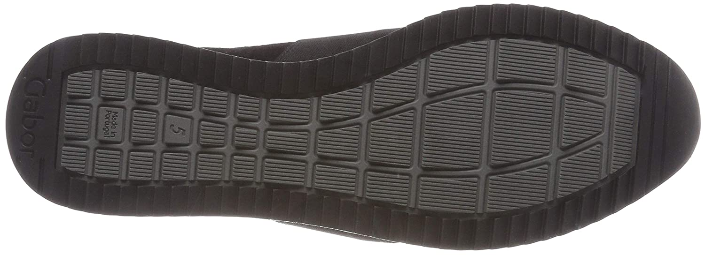 Gabor (Schwarz Damen Casual Sneaker Schwarz (Schwarz Gabor 17) 22be0c