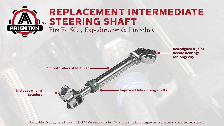 Steering Shaft Fit for Toyota Highlander 2008-2013 INEEDUP Lower Intermediate Steering Shaft Assembly