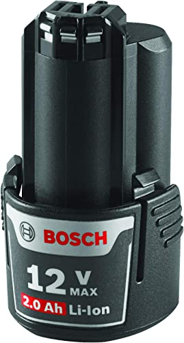Bosch 12V drill uses the high Capacity Lithium-ion Battery for power