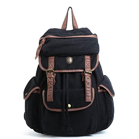 BUG Multi-function Canvas Backpack Practical Rucksack Leisure Rucksack Unisex  Backpack - 4c0fca53b4994
