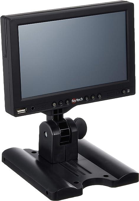 Faytech FT07TMB - Monitor LCD (7 pulgadas, VGA, HDMI, S-Video ...