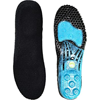 Amazon.com : Soleeze Spring Loaded Shoe Insoles with
