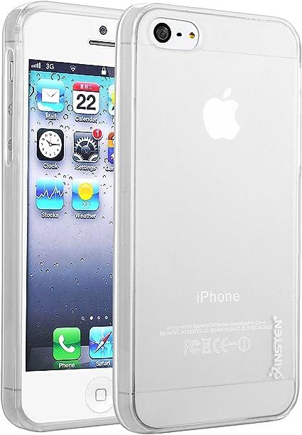iphone 5 case clear gel