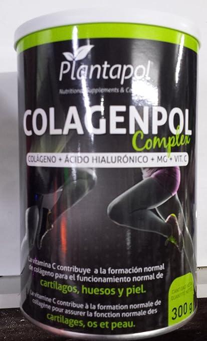 colageno complex con acido dialuronico , magnesio y vitamina C. 300 gr. (30