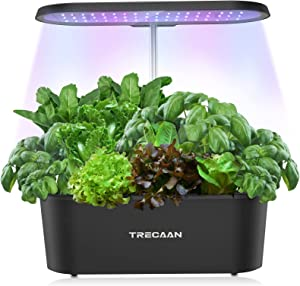 Trecaan Hydroponic Growing System with 7 Pods