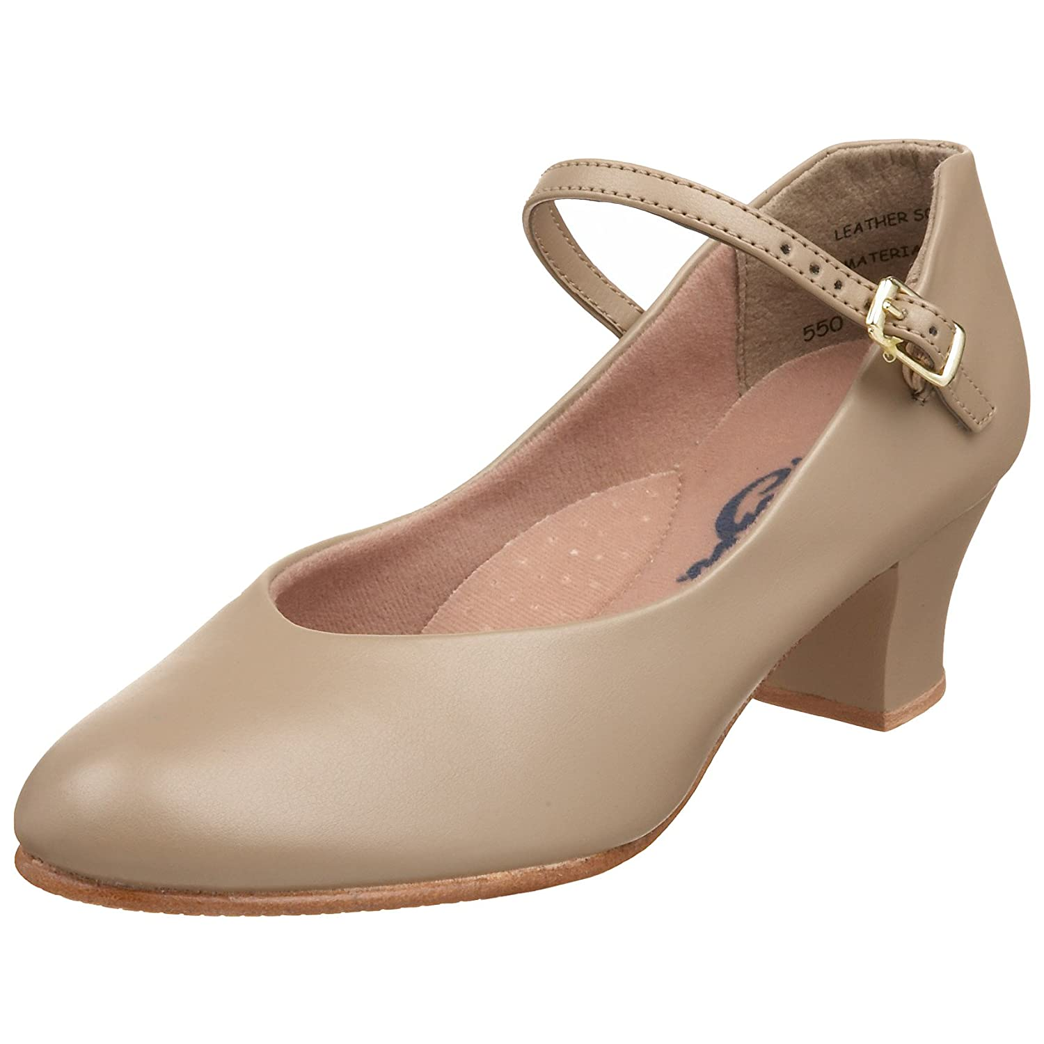 Capezio 550 Tan Junior Footlight B0002RRMZ2 10 B(M) US|Tan