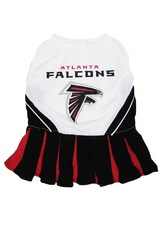 M Pets First NFL Atlanta Falcons Dog Cheerleader Dress, Medium