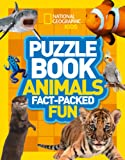 Puzzle Book Animals: Brain-Tickling Quizzes, Sudokus, Crosswords and Wordsearches