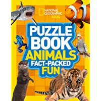 Puzzle Book Animals: Brain-tickling quizzes, sudokus, crosswords and wordsearches (National Geographic Kids Puzzle Books)