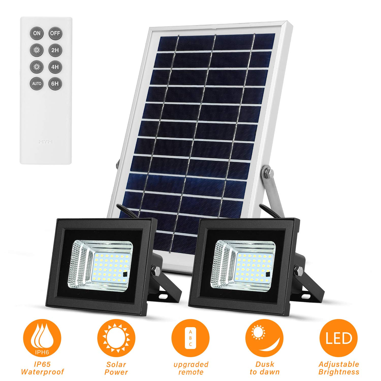 Richarm Remote Controlled Solar Lights