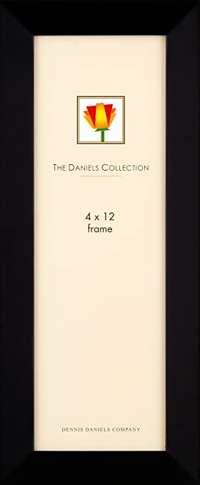 dennis daniels gallery woods panoramic picture frame 4 x 12 inches ebony finish